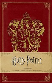 Harry Potter : Gryffindor Ruled Pocket Journal -