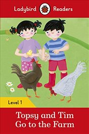 Topsy and Tim: Go to the Farm - Ladybird Readers Level 1 - Ladybird,