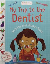 My Trip to the Dentist Activity and Sticker Book (Chameleons) -