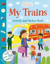 My Trains Activity and Sticker Book (Chameleons) -