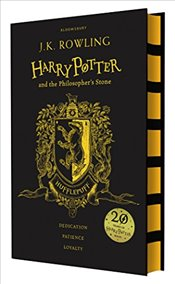 Harry Potter and the Philosophers Stone - Hufflepuff Edition - Rowling, J. K.