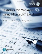 Statistics for Managers Using Microsoft Excel 8e - Levine, David M.
