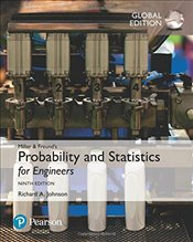 Miller & Freunds Probability and Statistics for Engineers 9e - Johnson, Richard A.