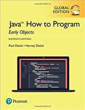 Java How to Program Early Objects 11e - Deitel, Harvey