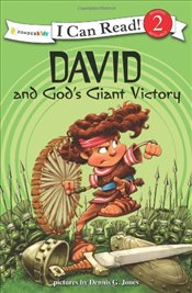 David and Gods Giant Victory : I Can Read Series - Jones, Dennis G.