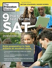 9 Practice Tests for the SAT : 2018 Edition -