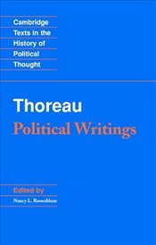 Thoreau : Political Writings - Thoreau, Henry David