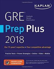 GRE Prep Plus 2018 : Practice Tests + Proven Strategies + Online + Video + Mobile -