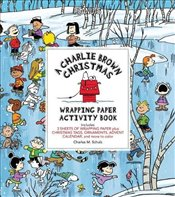 Charlie Brown Christmas Wrapping Paper Activity Book - Schulz, Charles