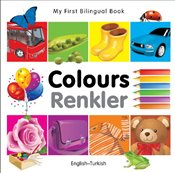 My First Bilingual Book - Colours - English-Turkish (My First Bilingual Books) - Milet,