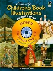 Classic Childrens Book Illustrations (Dover Electronic Clip Art) - Waldrep, Mary Carolyn