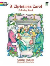 Christmas Carol (Dover Holiday Coloring Book) - Dickens, Charles