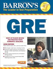 Barrons GRE 22e - Green, Sharon Weiner