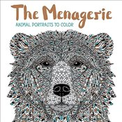 Menagerie: Animal Portraits to Color -