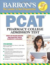 Barrons PCAT : Pharmacy College Admissions Test 7e - Chisholm-Burns, Marie