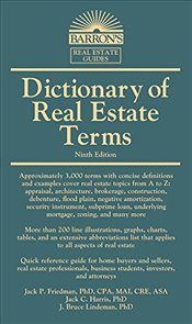 Dictionary of Real Estate Terms  - Friedman, Jack P.