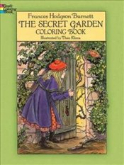 Secret Garden Coloring Book: Colouring Book - Burnett, Frances Hodgson