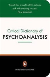 Critical Dictionary Of Psychoanalysis - RYCROFT, CHARLES