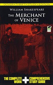 Merchant of Venice Thrift Study Edition (Dover Thrift Study Edition) - Shakespeare, William
