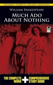 Much Ado About Nothing (Dover Thrift Study Edition) - Shakespeare, William