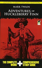 Adventures of Huckleberry Finn Thrift Study Edition (Dover Thrift Study Edition) - Twain, Mark