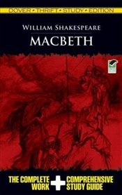 Macbeth Thrift Study Edition (Dover Thrift Study Edition) - Shakespeare, William