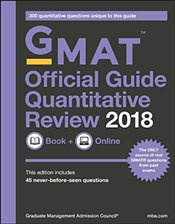 Official Guide for GMAT Quantitative Review 2018 with Book + Online - GMAC - Graduate Management Admission Council
