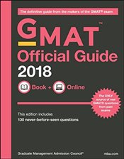 Official Guide for GMAT Review 2018 with Book + Online - GMAC - Graduate Management Admission Council