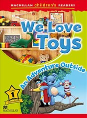 Macmillan Childrens Readers Level 1: We Love Toys - Shipton, Paul