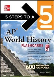 5 Steps to a 5 : AP World History Flashcards for your iPod with MP3 Disk  - Martin, Peggy J.