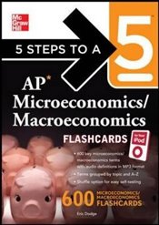 5 Steps to a 5 : AP Microeconomics/ Macroeconomics Flashcards for your iPod with MP3 Disk  - Dodge, Eric R.