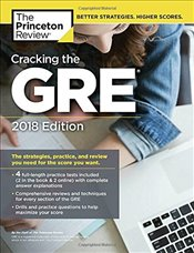 Cracking the GRE with 4 Practice Tests 2018 Edition -