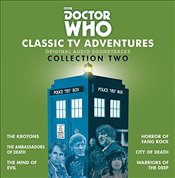 Doctor Who: Classic TV Adventures Collection Two: Six full-cast BBC TV soundtracks: 2 - Holmes, Robert