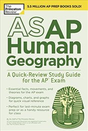 Asap Human Geography : A Quick-Review Study Guide for the Ap Exam  -