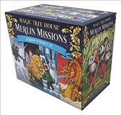 Magic Tree House Merlin Missions #1-25 Boxed Set   - Osborne, Mary Pope