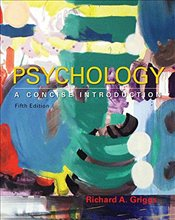 Psychology 5e : A Concise Introduction - Griggs, Richard A.