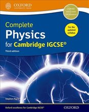 Complete Physics for Cambridge IGCSE® Student book - Pople, Stephen