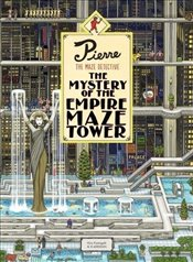 Pierre The Maze Detective : The Mystery of the Empire Maze Tower - Kamigaki, Hiro