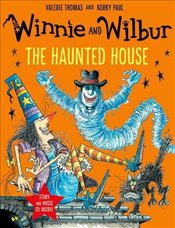 Winnie and Wilbur: The Haunted House (Paperback & CD) - Thomas, Valerie