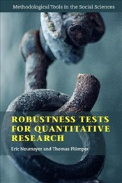 Robustness Tests for Quantitative Research  - Neumayer, Eric