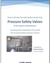 Pressure Safety Valves : How to Calculate the Relieving Flow Rate & Sizing for the Cryogenic and Liq - Zeybek, İbrahim