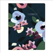 Painted Petals Deluxe Spiral Notebook - Galison,