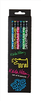 Keith Haring Pencil Set - Haring, Keith