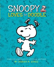 Peanuts: Snoopy Loves to Doodle: Create and Complete Pictures with the Peanuts Gang (Peanuts (Runnin - Schulz, Charles