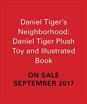 Daniel Tigers Neighborhood: Daniel Tiger Plush Toy and Illustrated Book (Minature Editions) - Press, Running