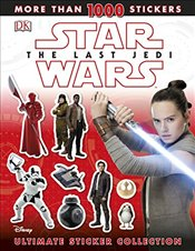 Star Wars The Last Jedi : Ultimate Sticker Collection - Fentiman, David