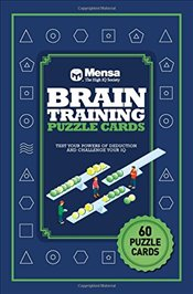 Puzzle Cards : Mensa Brain Training - Allen, Robert