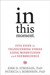 In This Moment : Five Steps to Transcending Stress Using Mindfulness and Neuroscience - Strosahl, Kirk