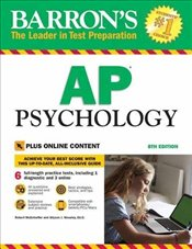 Barrons AP Psychology : With Bonus Online Tests 8e -