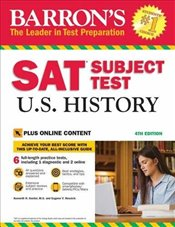 Barrons SAT Subject Test U.S. History : With Bonus Online Tests : 4e -